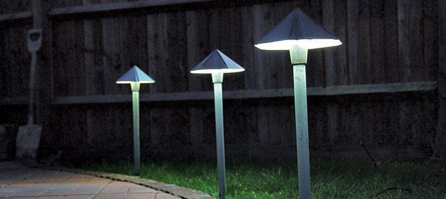 Led energy efficient lights low energy outdoor lights mean you can keep your lamp light shining aloadofball Images