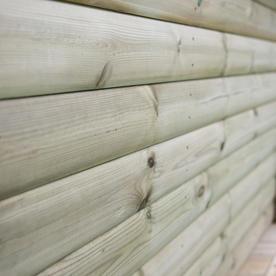 Timber Roofed Hexagonal 4m Gazebo