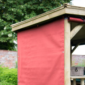 All Weather Curtains for Hexagonal 3m Gazebo