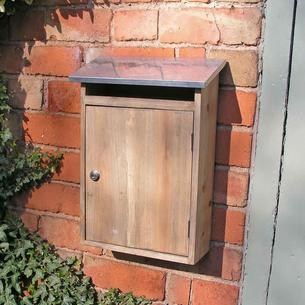 Wooden Post Box
