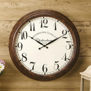 Tradional Large Outdoor Clock