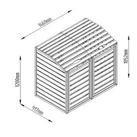 Wheelie Bin Storage Hide