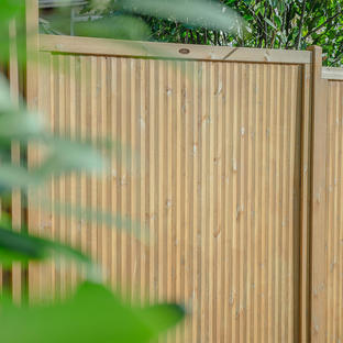 Decibel Noise Reduction Fence Panels