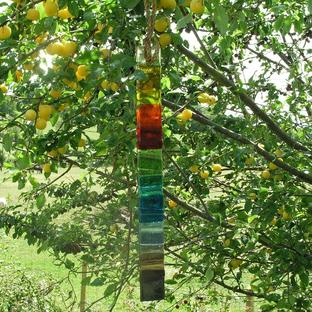 Rainbow Glass Wishstick