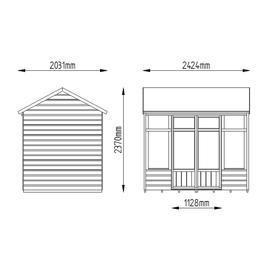 Kempsford Shiplap Summerhouse