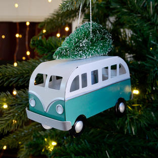 Home For Christmas Festive Camper Van
