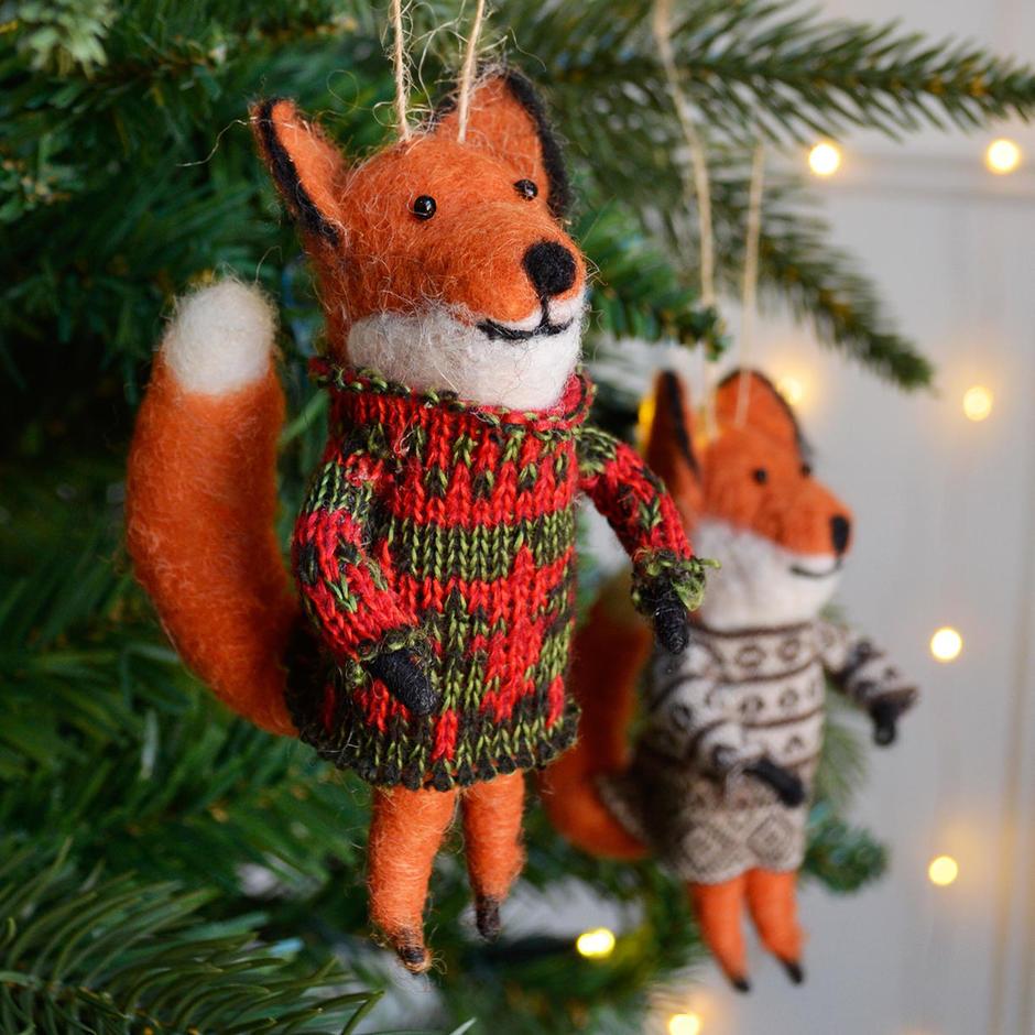 Fairisle Foxes