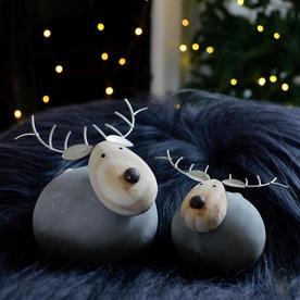 Rotundal Concrete Reindeer