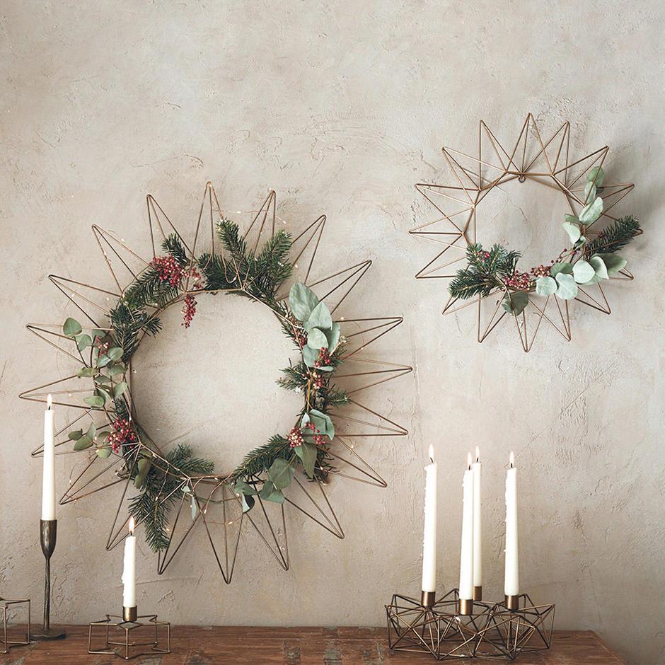 Brass Wreaths
