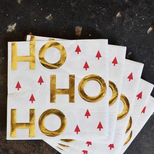 HO-HO-HO Paper Napkins