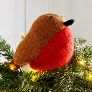 Felt Robin Tree Topper