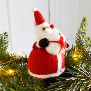 Santa Tree Topper