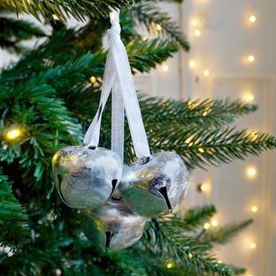 Hanging Reindeer Bells - Set of 3
