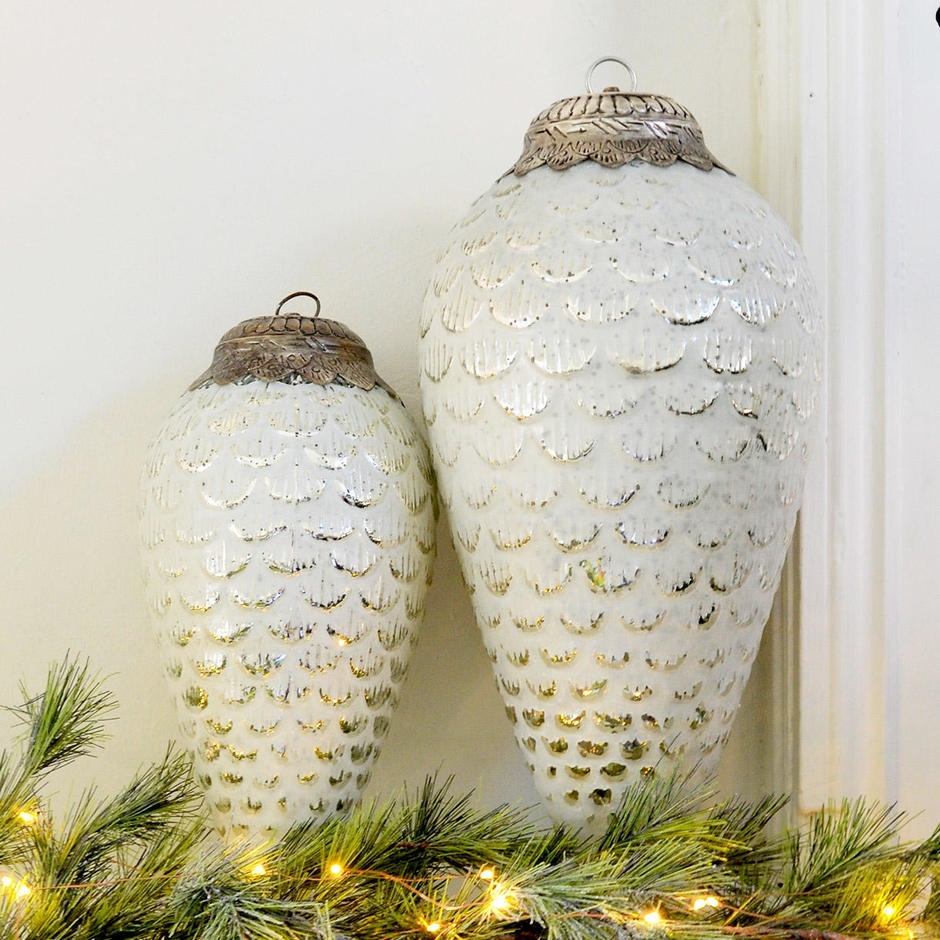 Oversized Giant Pine Cone Hanging Decorations