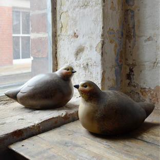 A Pair of Decorative Birds