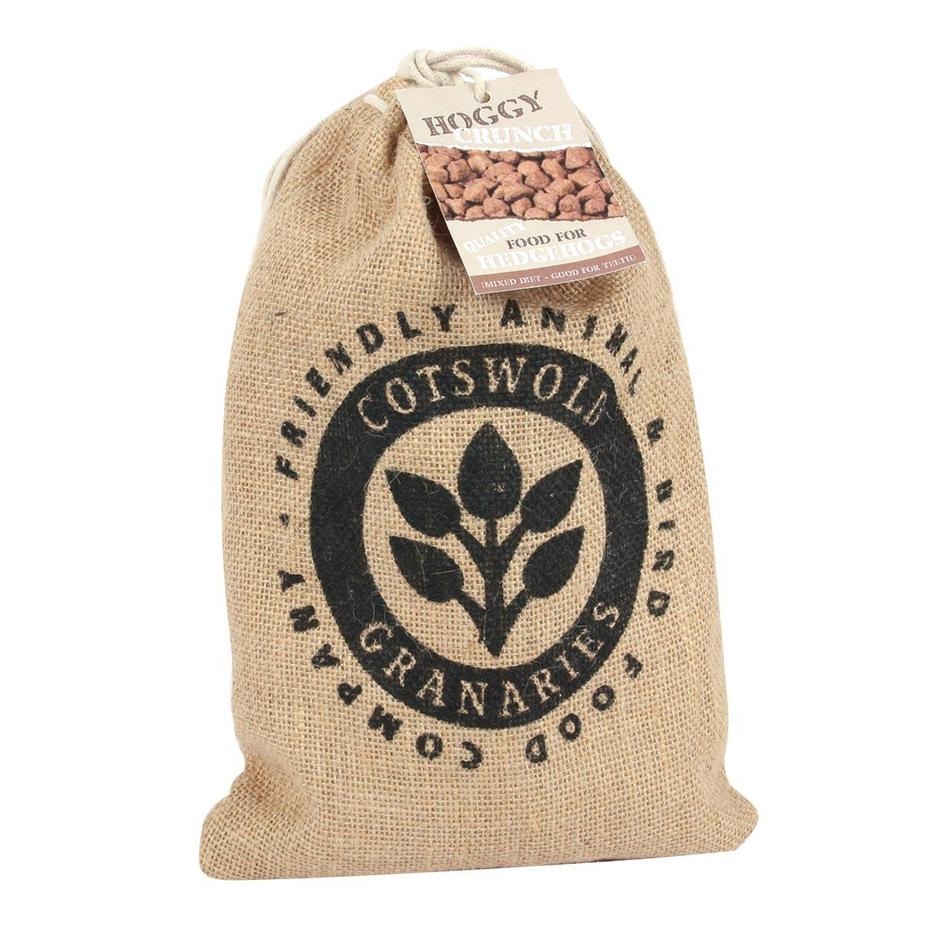 Hedgehog Food in Hessian Sack