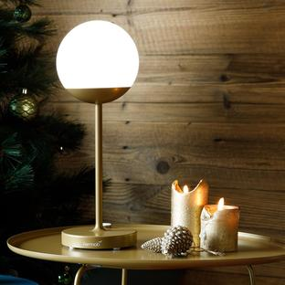 Mooon! Table Lamp Fermob Limited Edition Gold Fever