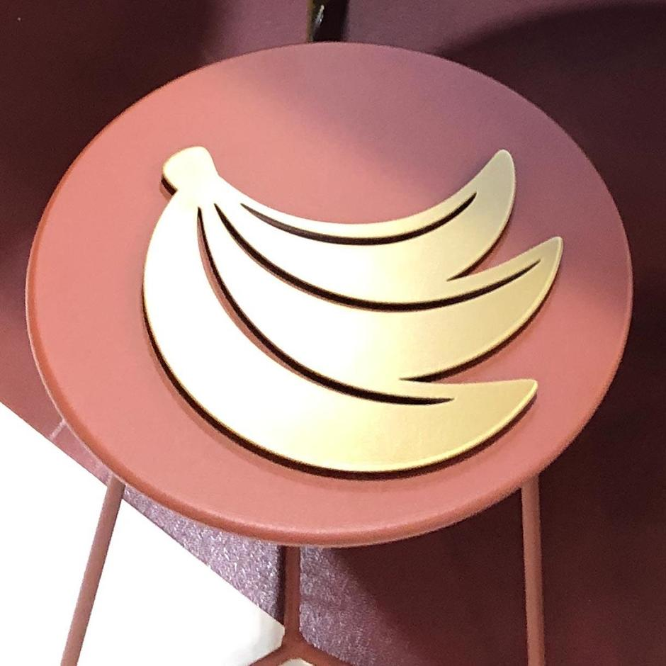 Fermob Limited Edition Banana Trivet Gold Fever