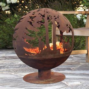 Highland Globe Fire Pit