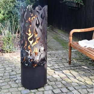Tall Flame Design Brazier