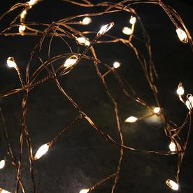 Copper Cluster 300 LED Outdoor String Lights