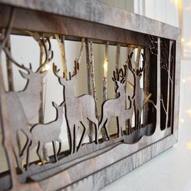 LED Woodland Scene Lightboxes