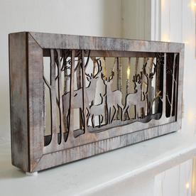 LED Woodland Scene Lightboxes