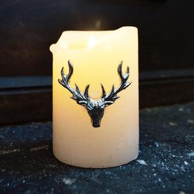 Stag Head Design Candle Pins