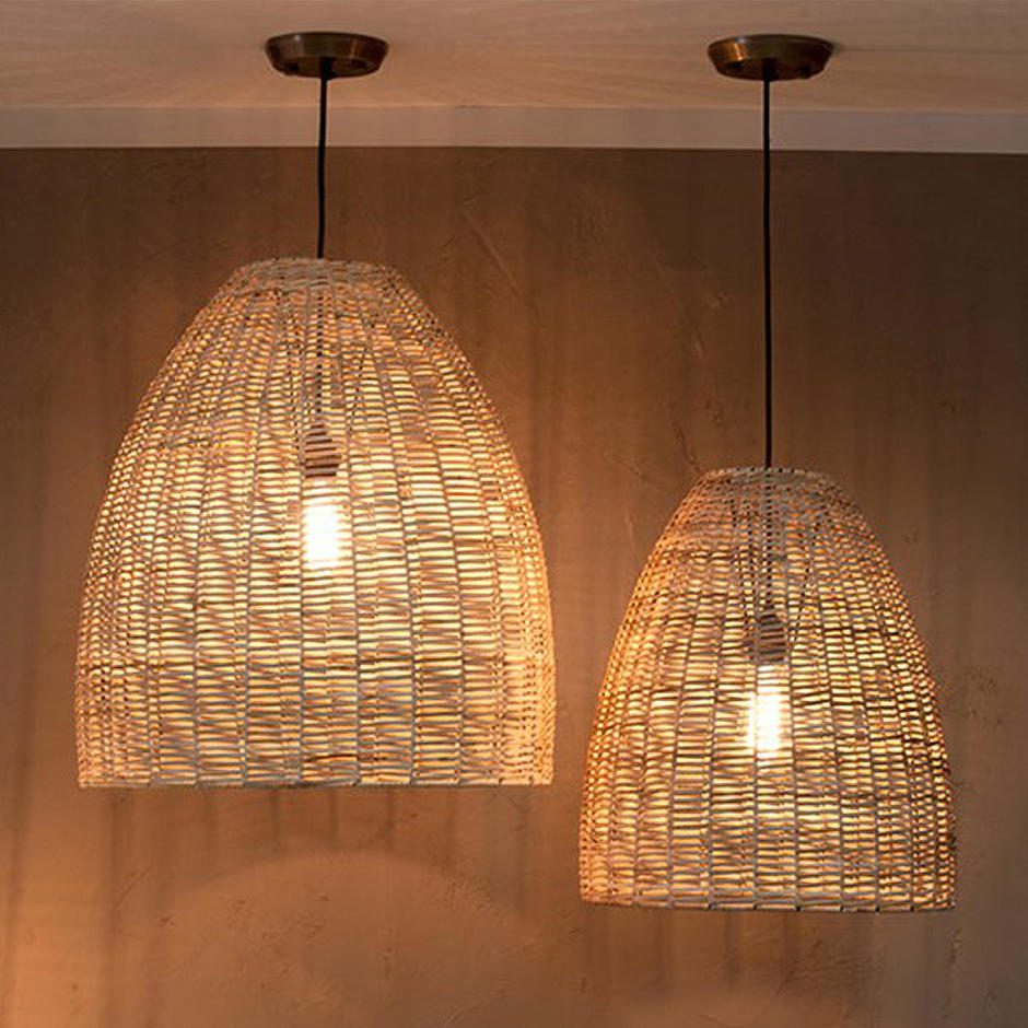 Wicker Indoor Pendant Light Shade