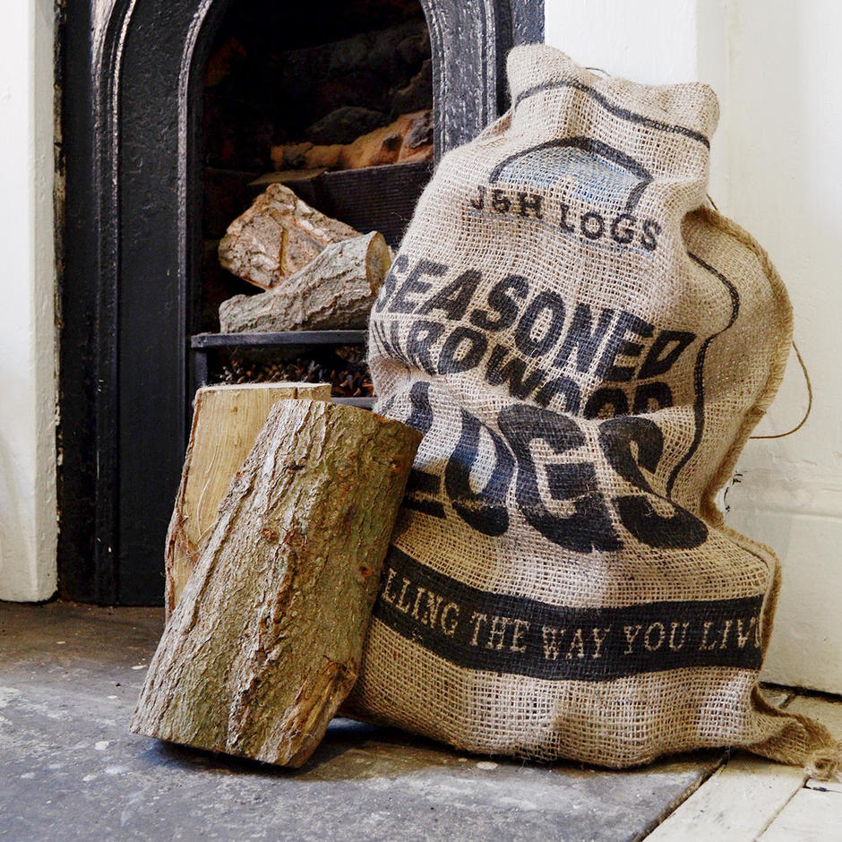 Seasoned Hardwood Logs and Kindling