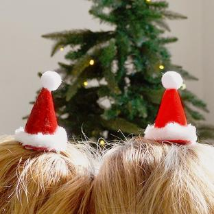 Mini Santa Hat with clip