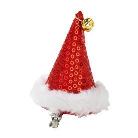Mini Santa Hat with clip