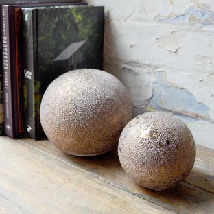 Decorative Copper Coloured Balls