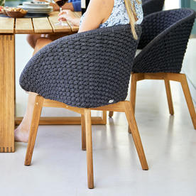 Peacock Rope Dining Chair