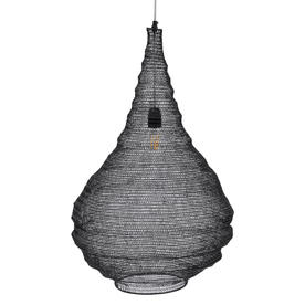 Teardrop Black Chain Pendant Light