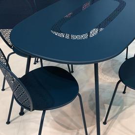 Lorette Oval Table