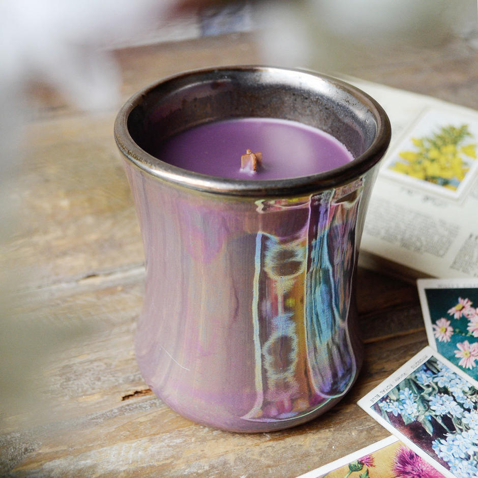 Woodwick Iridescent Jar Mini Candles