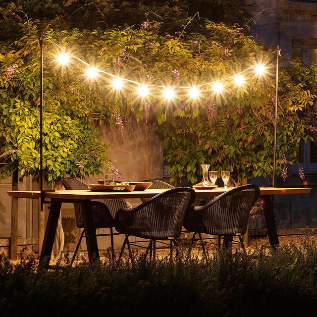 Buy Light My Table Festoon Lights By Vincent Sheppard Outdoor Collection The Worm That Turned Revitalising Your Outdoor Space