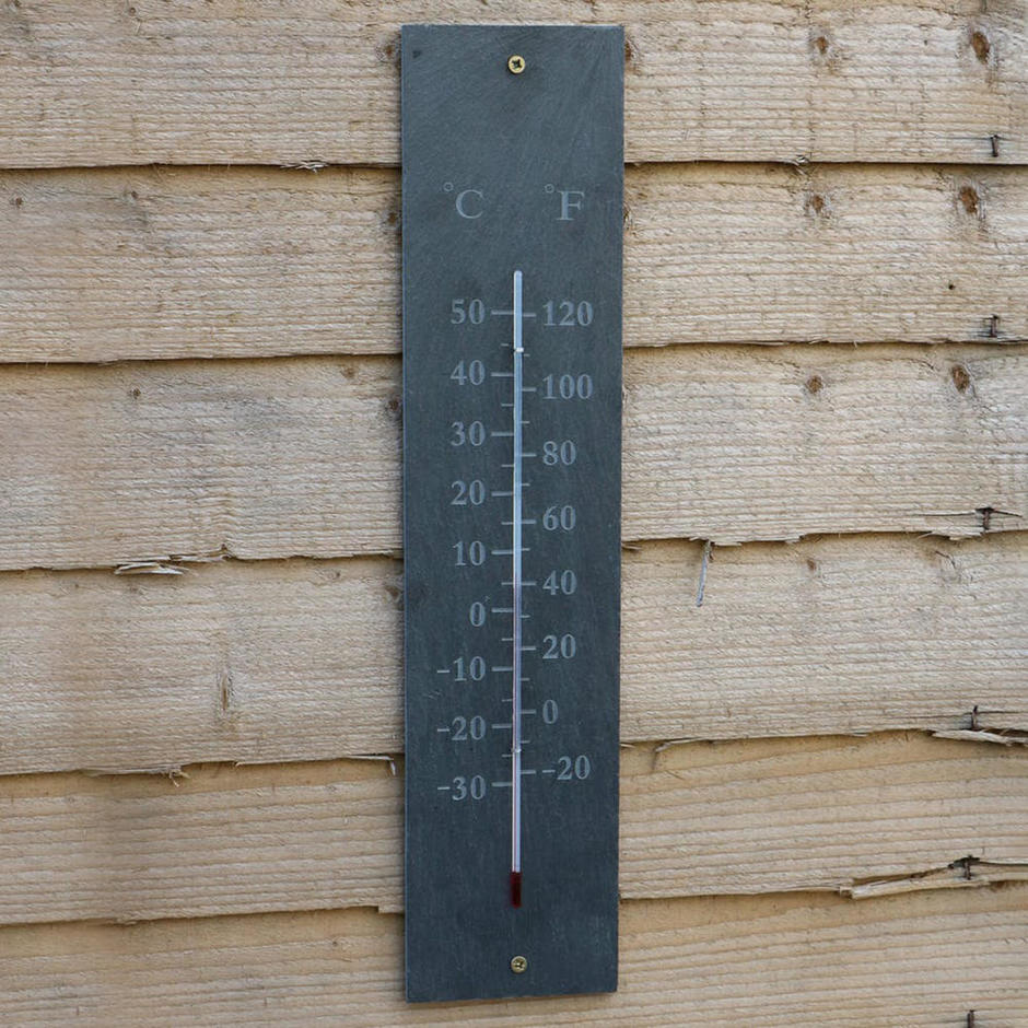 Slate Thermometer