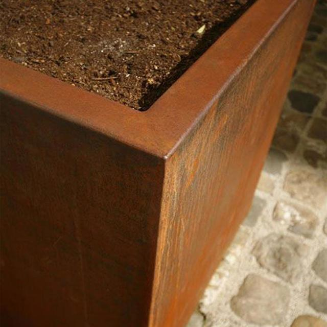 Buy Column Corten Steel Planters The Worm That Turned