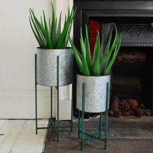 Faux Potted Aloe Vera Plant