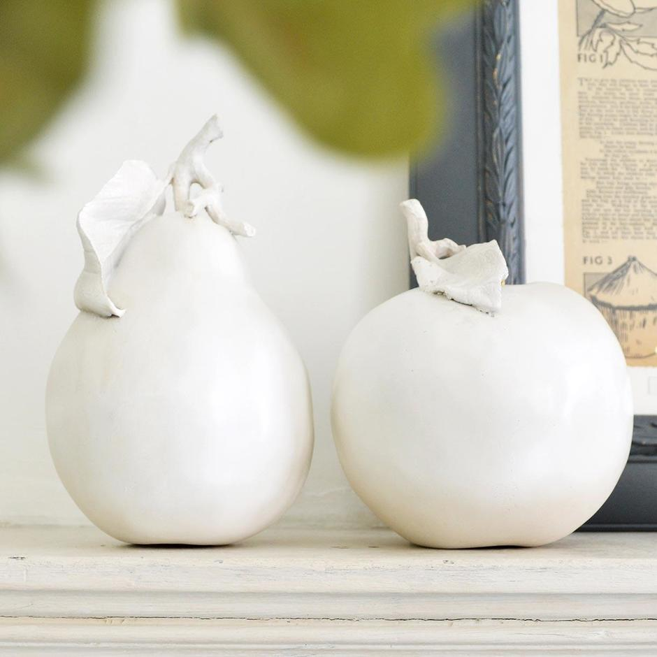 Decorative Apple and Pear Set