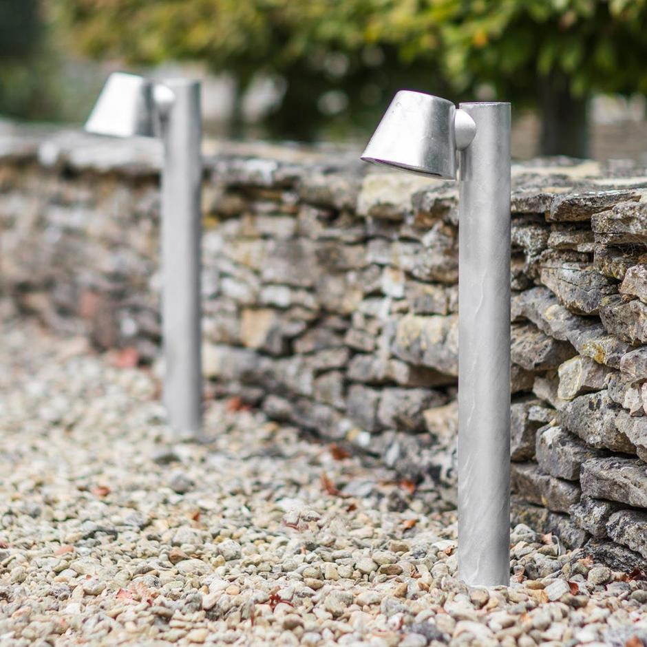 St Ives Galvanised Mast LED Path Light