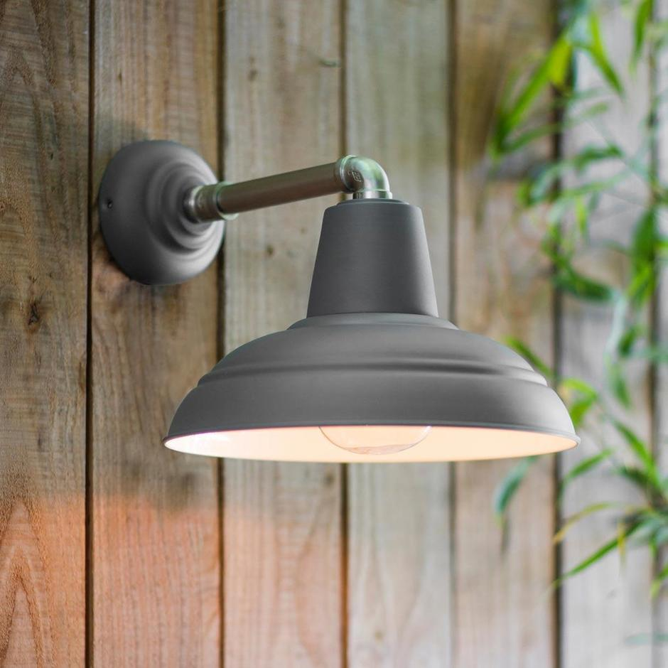 Southwark Outdoor Industrial Wall Light