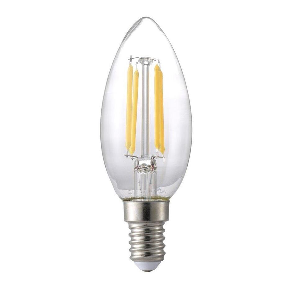 LED Dimmable 4.8W E27 Candle Bulb