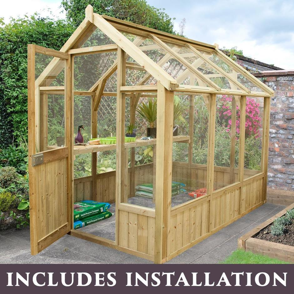 Vale Wooden Greenhouses