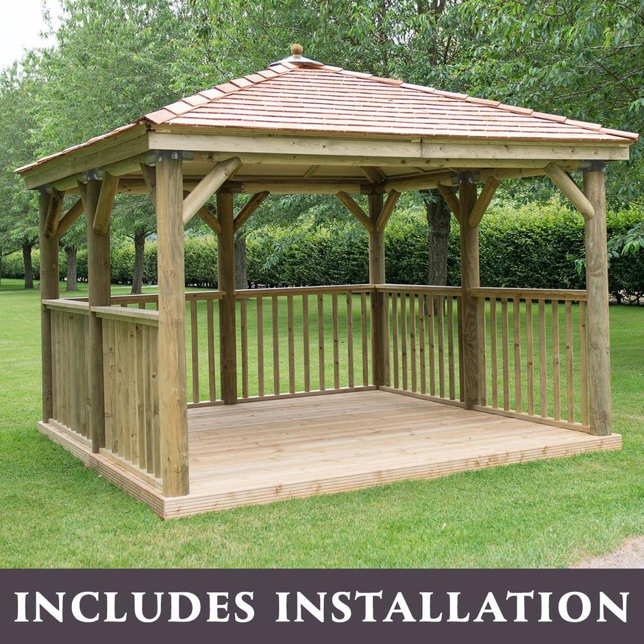Square Gazebos