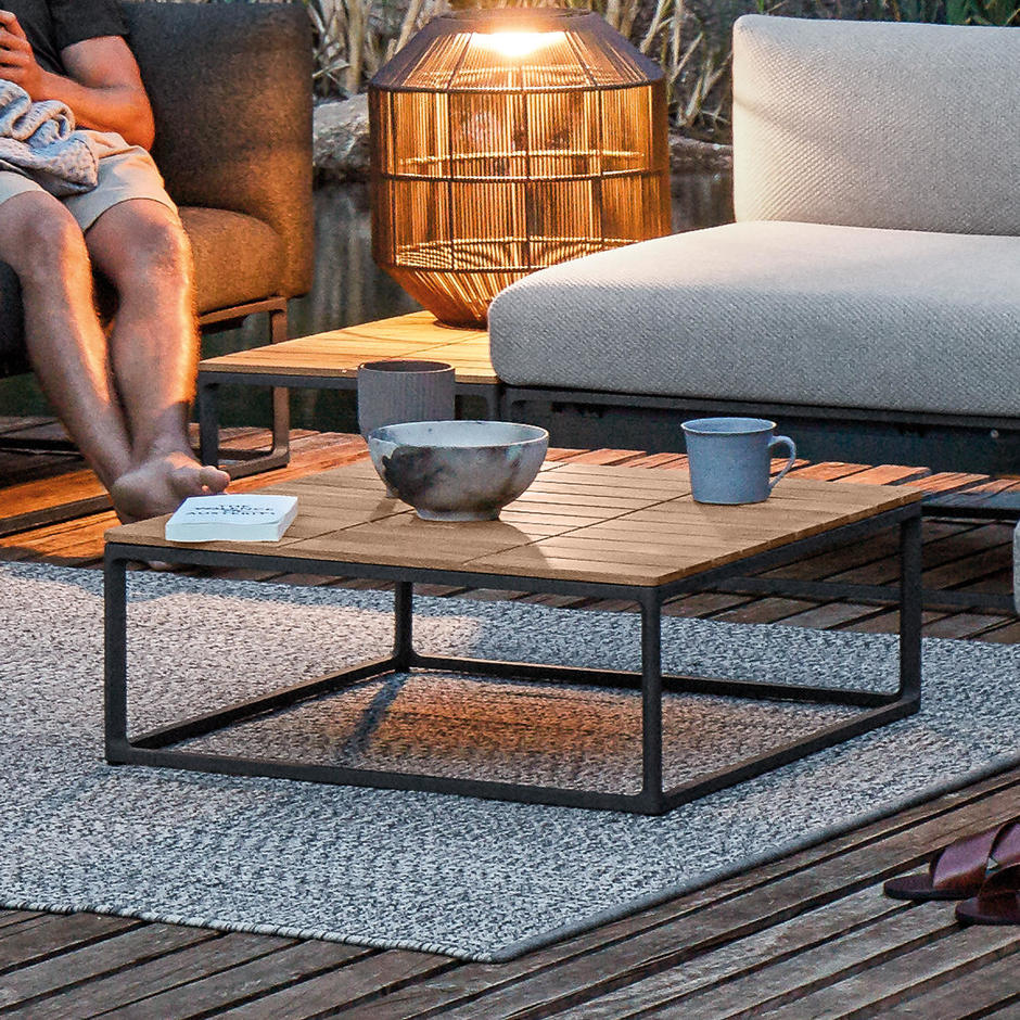 Maya Teak Top Coffee Tables