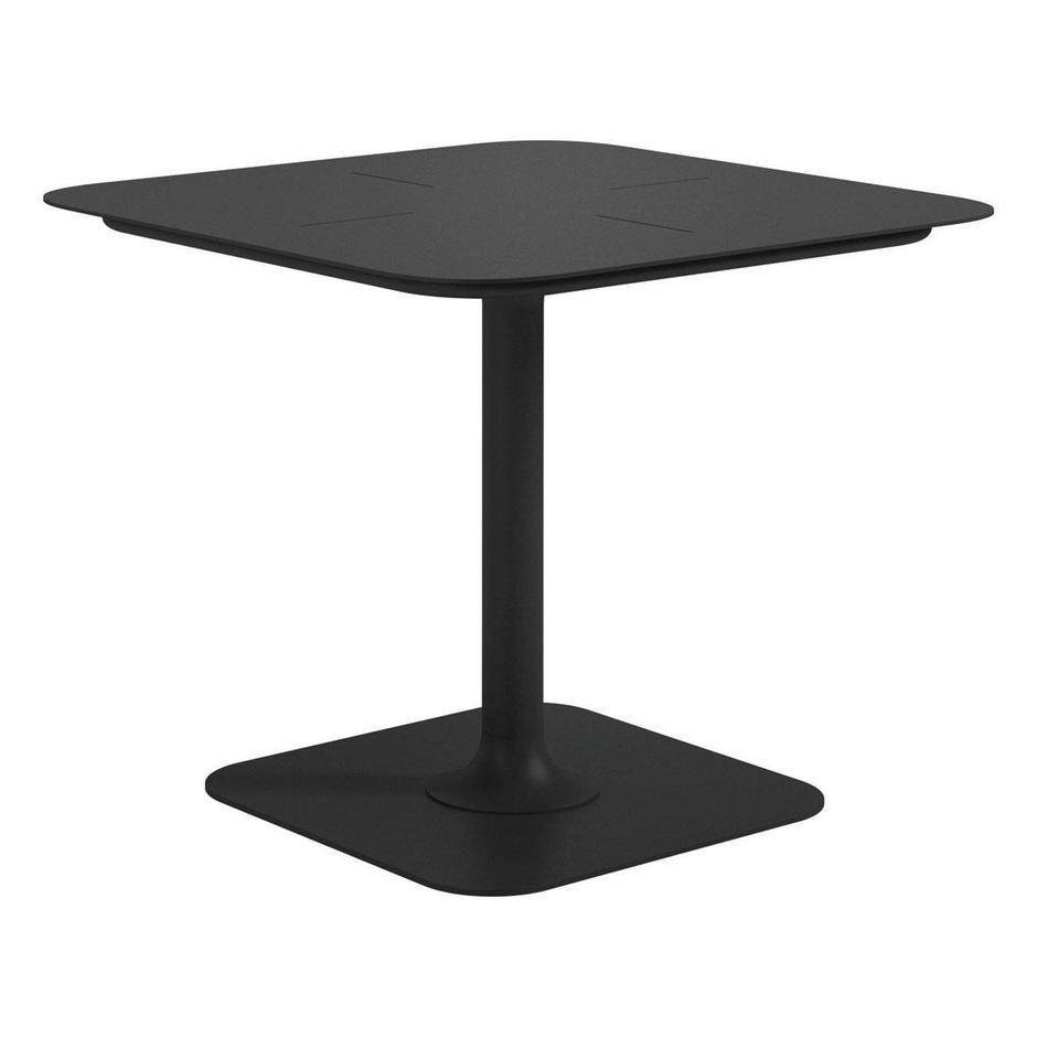 Curve Square Pedestal Tables