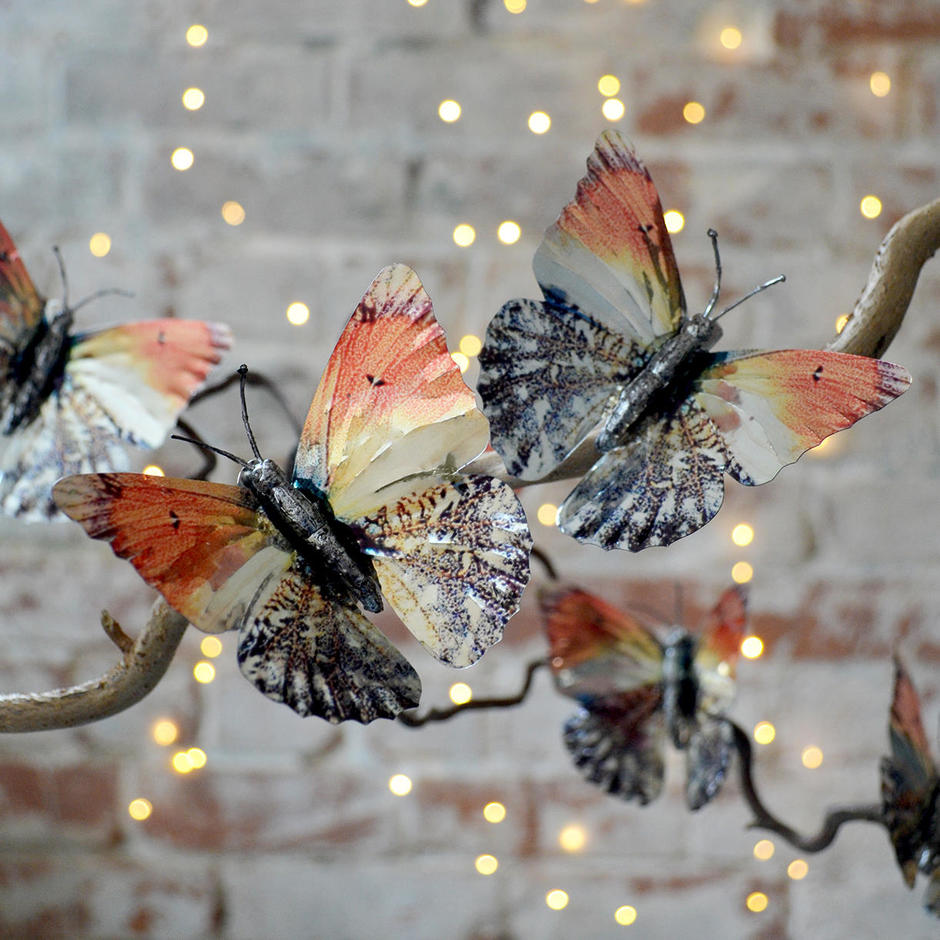 Set of Foil Butterflies
